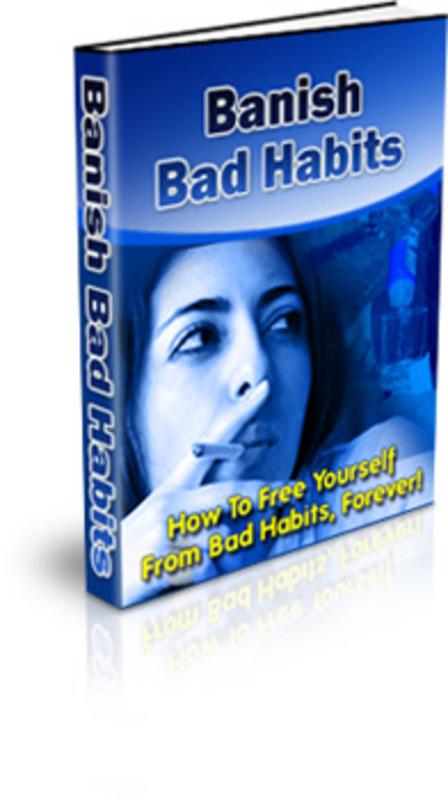 Product picture Banish Bad Habits - Bad Habits
